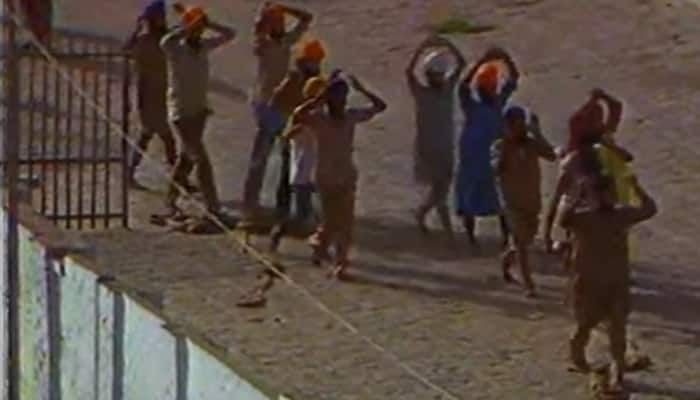 RARE VIDEO: 'Gunshots, fire, weapons and what not' - Original footage of attack on Amritsar's Golden Temple