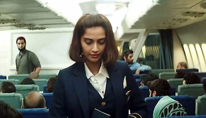 Watch Sonam Kapoor's tribute to 'Neerja' in her own special way!