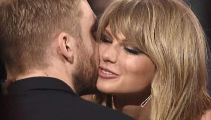 Taylor Swift dumped Calvin Harris over the phone?
