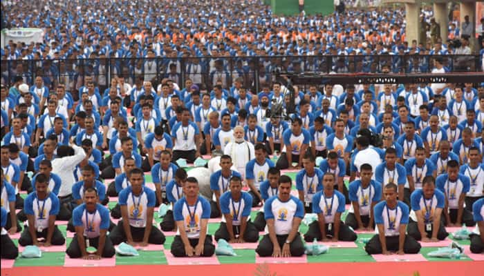PM Narendra Modi leads International Yoga Day celebrations in Chandigarh, says yoga unites everyone