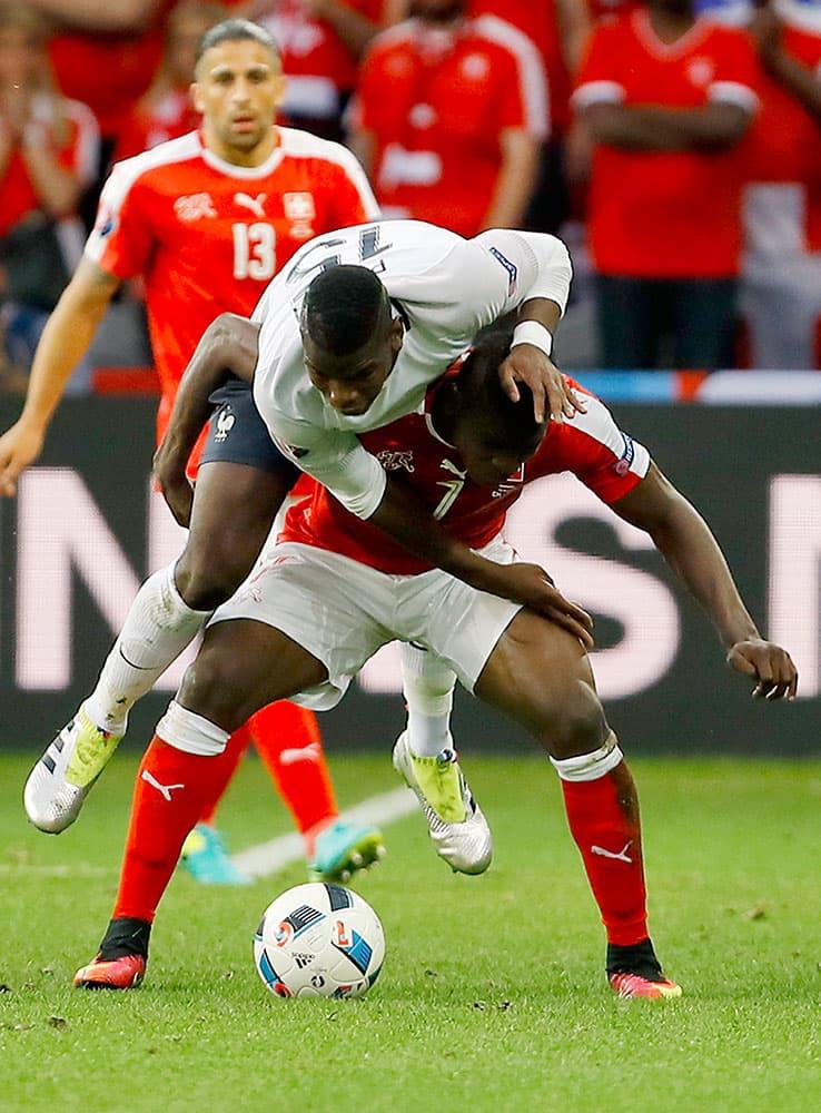 Euro 2016: Match 25, Switzerland VS France