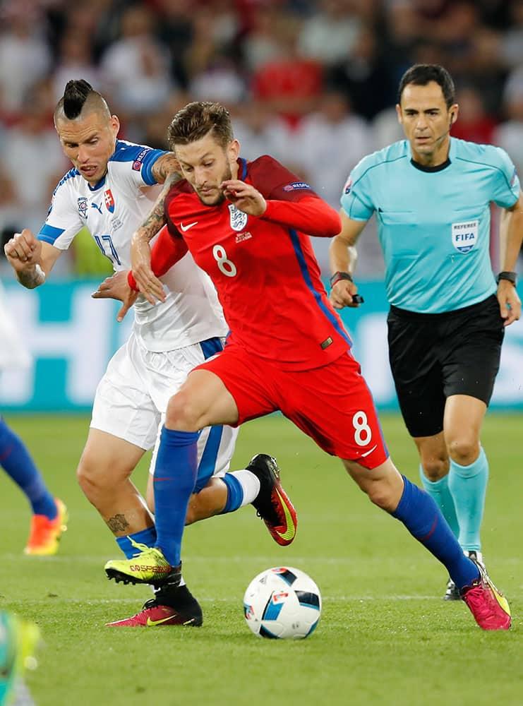 Euro 2016: Match 27, Slovakia VS England