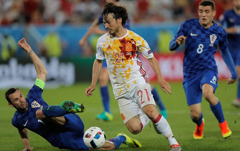 Euro 2016: Match 31, Croatia VS Spain