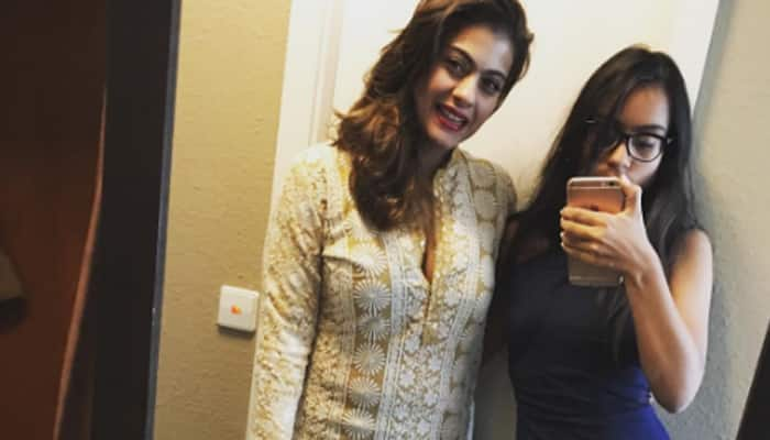 Grown up and gorgeous, Nysa poses with mother Kajol!