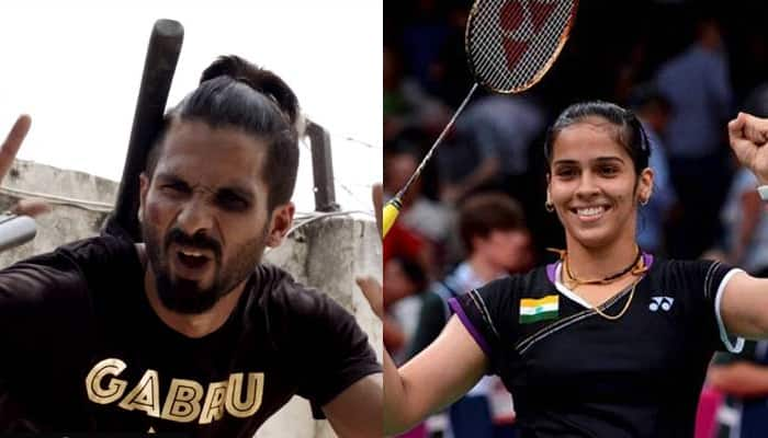 Did you know Shahid Kapoor is Saina Nehwal's biggest fan?