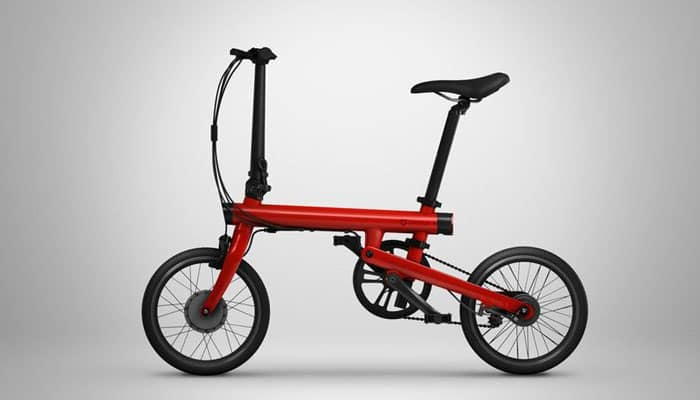 Xiaomi launches Qicycle, a foldable electric smart bike
