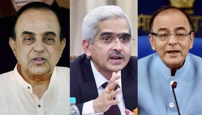 Subramanian Swamy at it again! Attacks Economic Affairs Secy Shaktikanta Das; Arun Jaitley calls it unfair