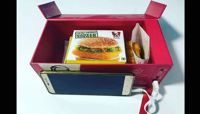 Now recharge your body and phone with KFC's 'Watt a Box' meal!- Watch