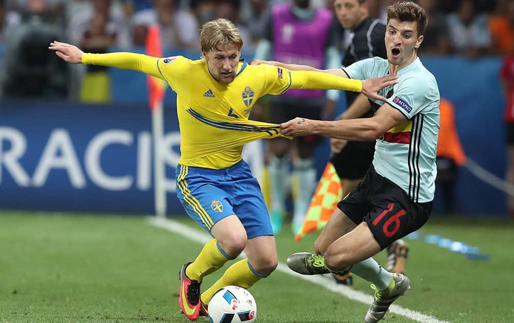 Euro 2016: Match 35, Sweden VS Belgium