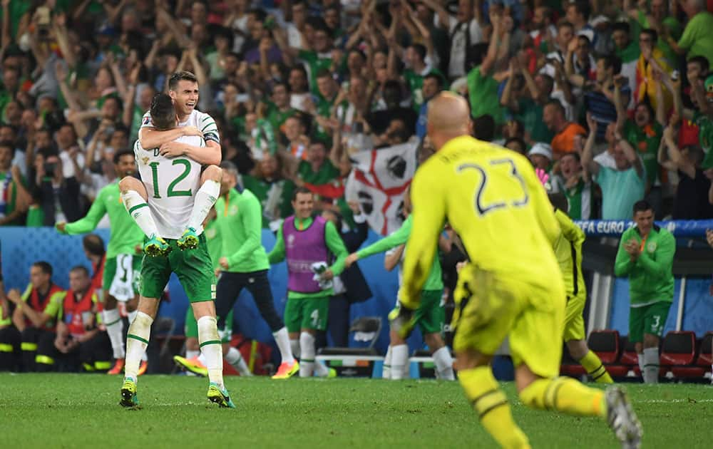 Euro 2016: Match 36, Italy VS Republic of Ireland