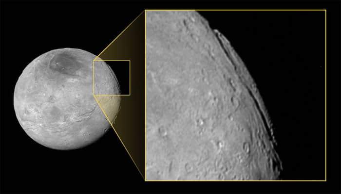 'Super' Grand Canyon on Pluto's moon Charon