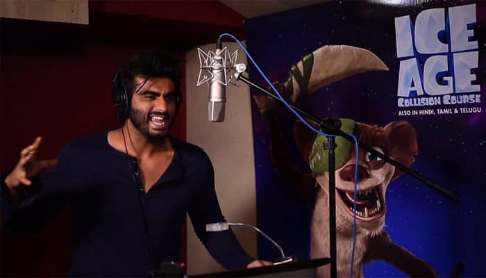 Watch: Arjun Kapoor makes his voice-over debut as 'Buck' in Hindi trailer of 'Ice Age Collision Course'!