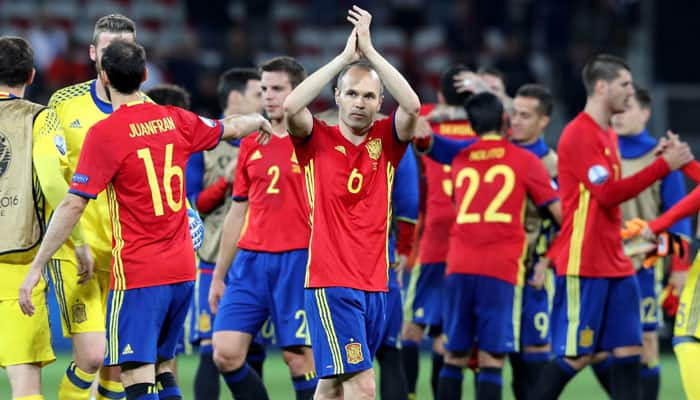 Euro 2016: Spain prepared for clash against 'powerful' Italy, says Iniesta