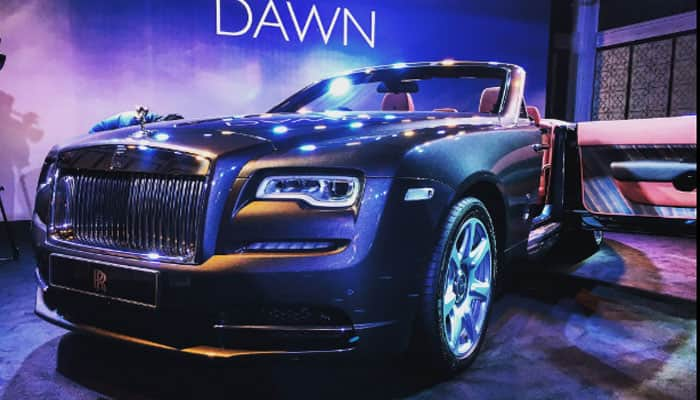 Rolls-Royce introduces Dawn convertible in India at Rs 6.25 crore