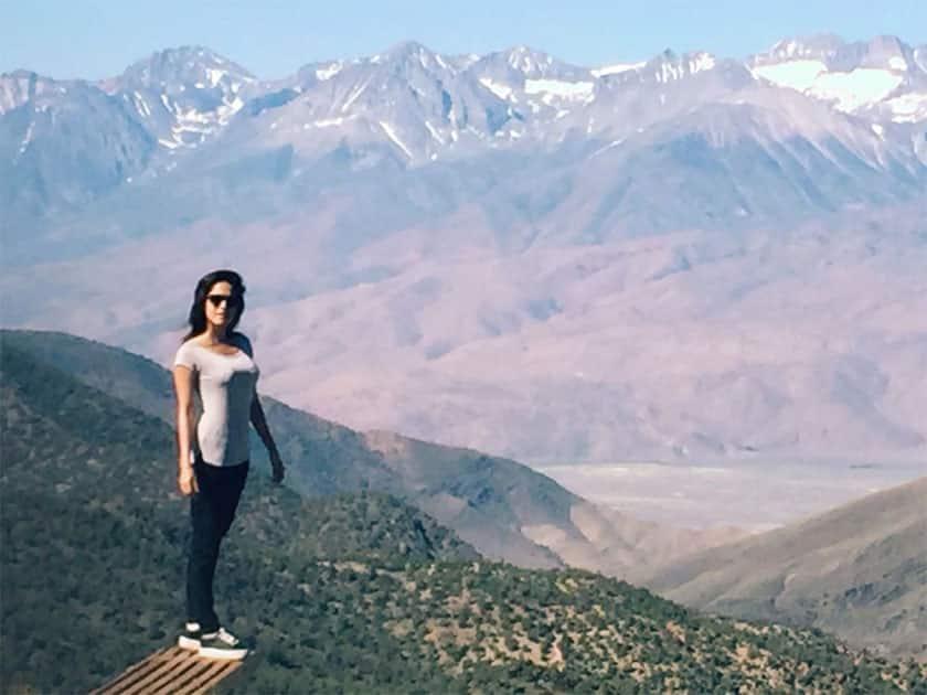 I wanna be a mountain..- Nushrat Bharucha