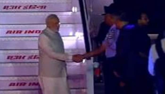 PM Narendra Modi returns from Tashkent after completing his two-day visit