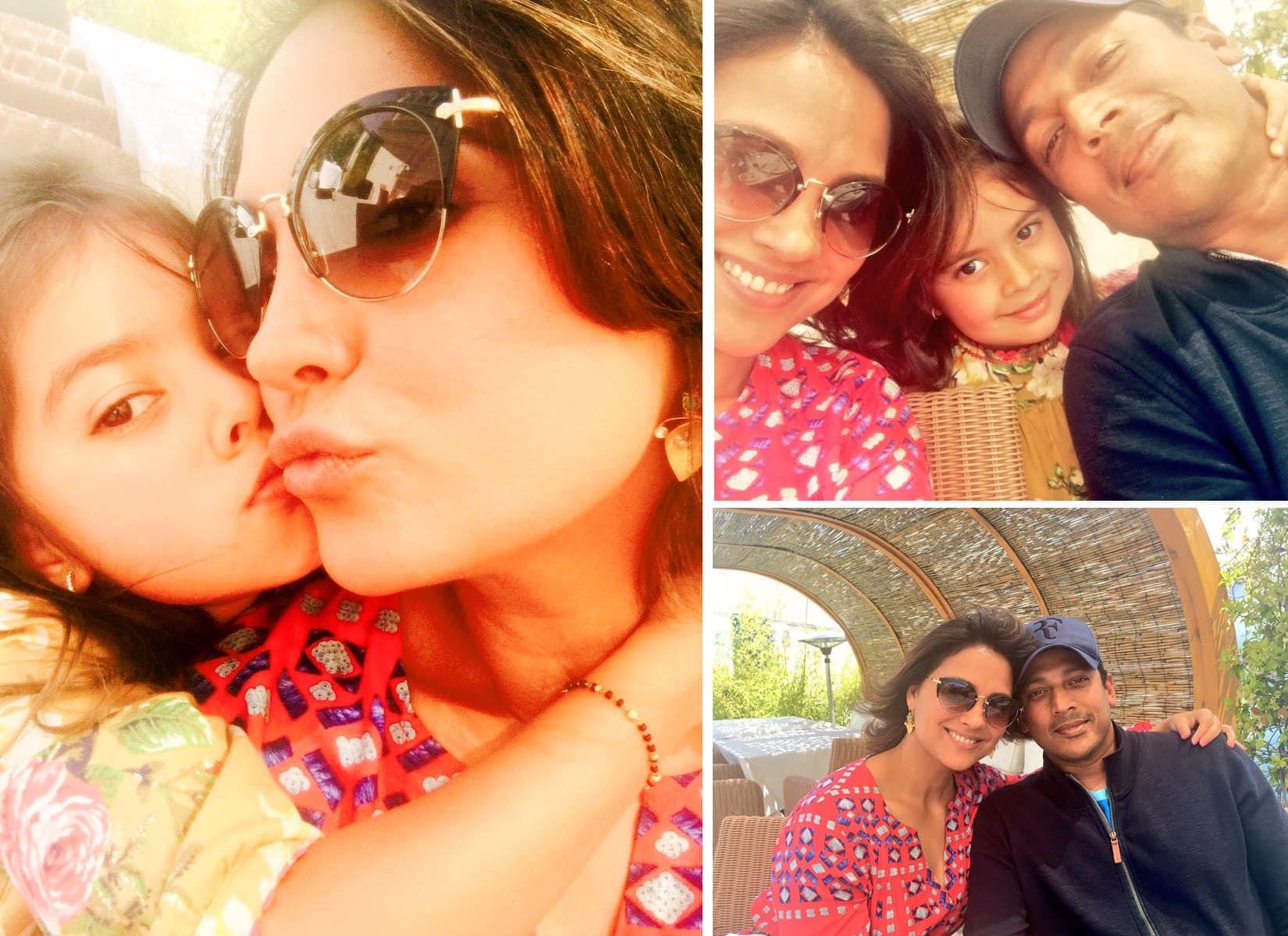 #IIFADiaries. lunch with the familia!!- Lara Dutta Bhupathi