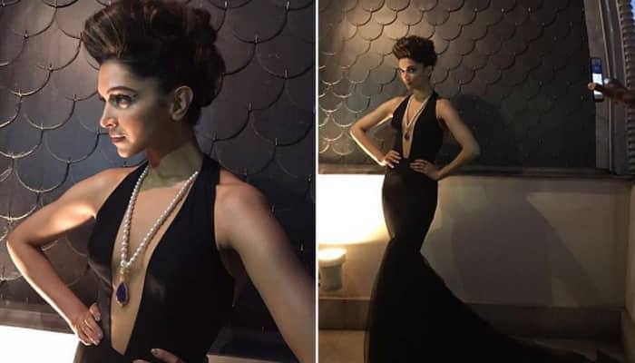 IIFA 2016: Defining hotness in all black Deepika Padukone will leave you gasping for air!