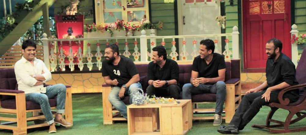Fun night with serious directors n producers- KAPIL
