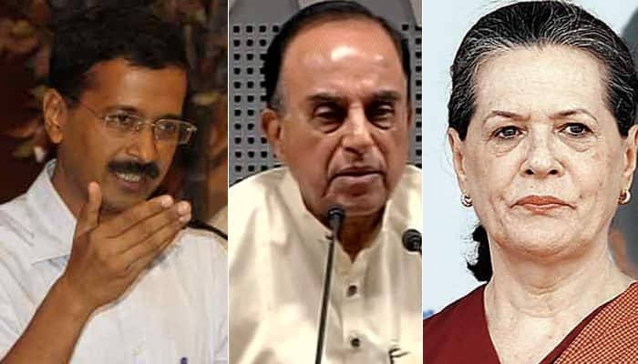 Subramanian Swamy makes explosive claims, says Kejriwal didn't get rank in IIT, Sonia wanted Emergency in 2012