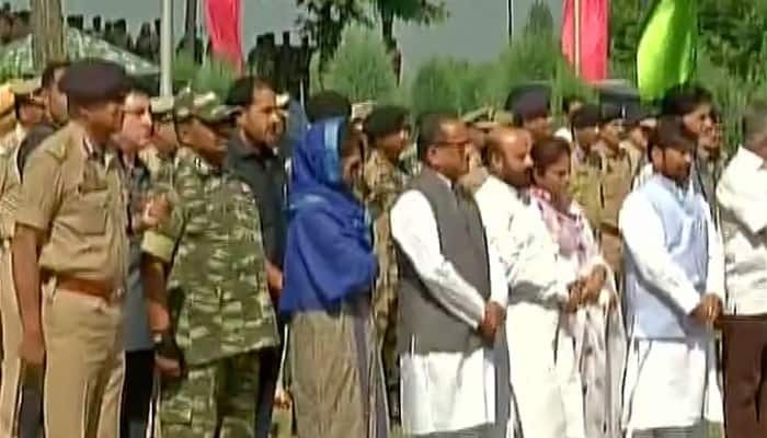 Pampore encounter: Mufti, Nirmal Singh attend wreath laying ceremony