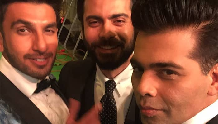 IIFA 2016: Why should girls have all the fun? Ranveer-Fawad-Karan shoot up dapper quotient
