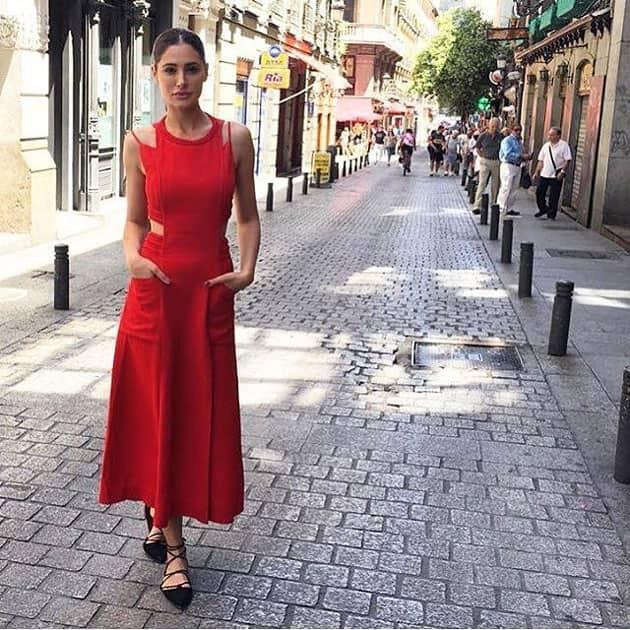 NargisFakhri soaks up the summer sun in Madrid- ELLEIndia