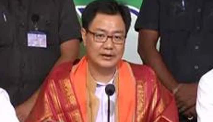 "Kiren Rijiju celebrates anti-emergency day, says BJP against ""dictatorship"""