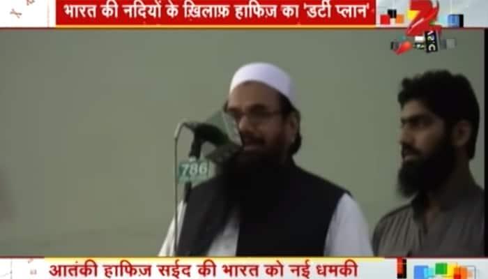 26/11 mastermind Hafiz Saeed announces 'jihad to free Pakistani rivers from India'