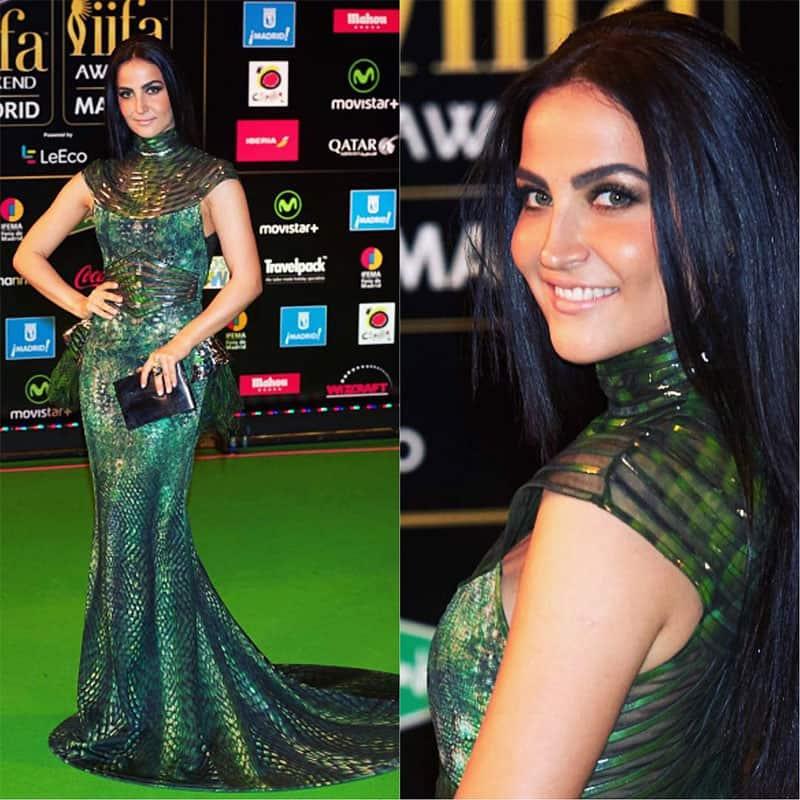 Elli Avram at IIFA Awards 2016