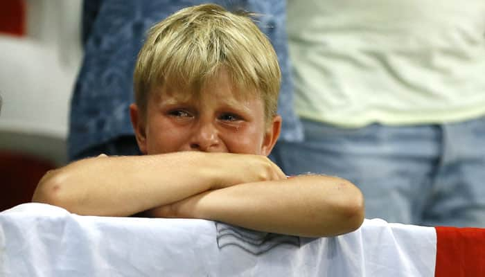 Soccer fans mock as England dumped out of Europe twice in a week