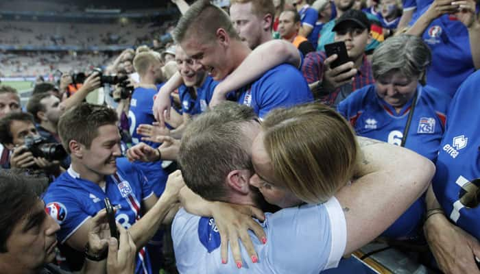 WATCH: This is how Iceland celebrated victory over England with their fans. Goosebumps!