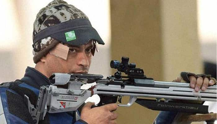 Sanjeev Rajput wins silver in 50m Rifle 3 Positions
