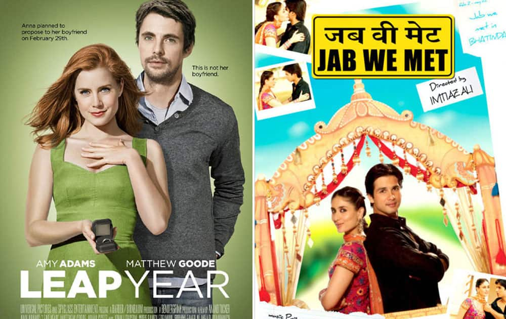 Released in 2010, Leap Year was inspired from 2007 released Jab We Met.