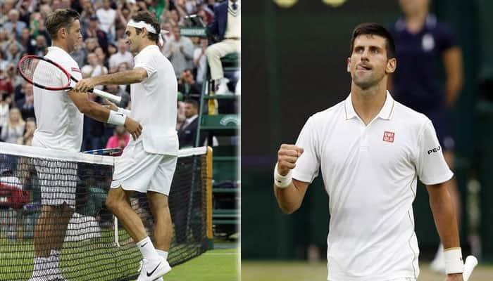 Wimbledon 2016: Novak Djokovic wins 30th consecutive Grand Slam match, Roger Federer ends Marcus Willis' fairytale