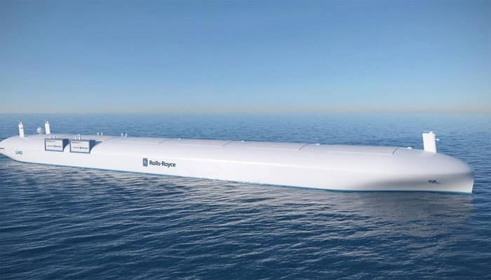 Rolls Royce aims to launch self-driving ships by 2020- Watch