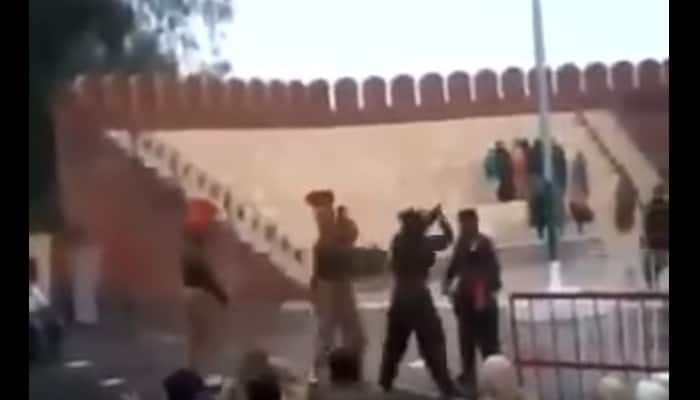 MUST WATCH: When Indian soldier brutally thrashed Pakistani counterpart on Indo-Pak border