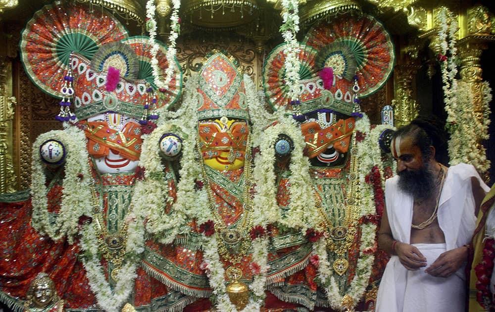 Annual Rath Yatra procession