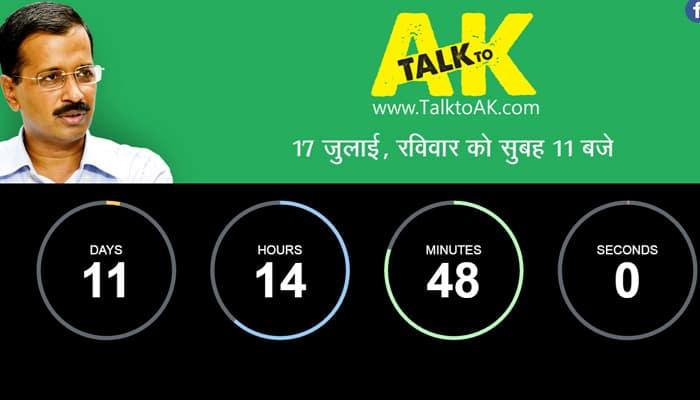 'Talk to AK' is Arvind Kejriwal's reply to Narendra Modi's 'Mann ki Baat'