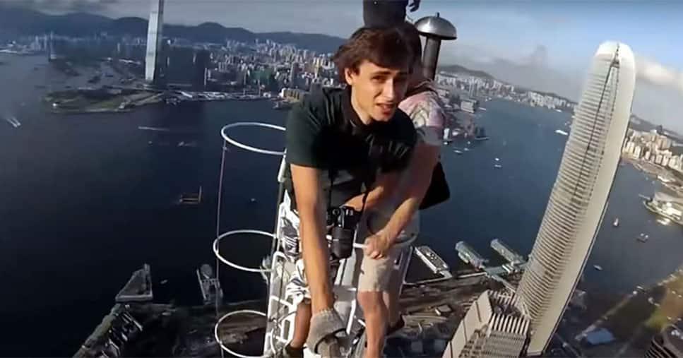 Adventurous selfies