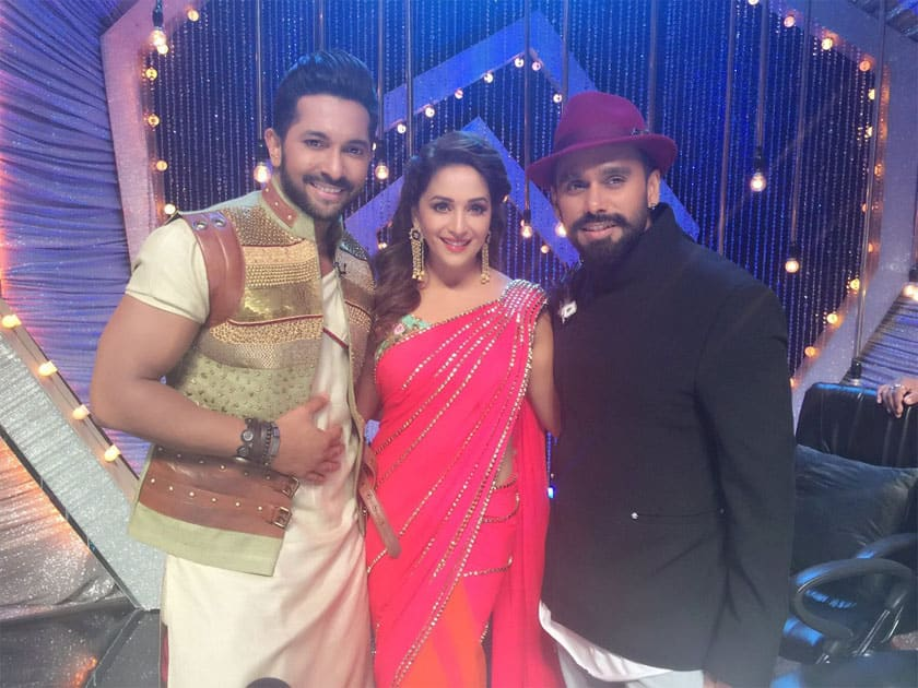 Inching towards #SYTYCD finale- Madhuri Dixit-Nene