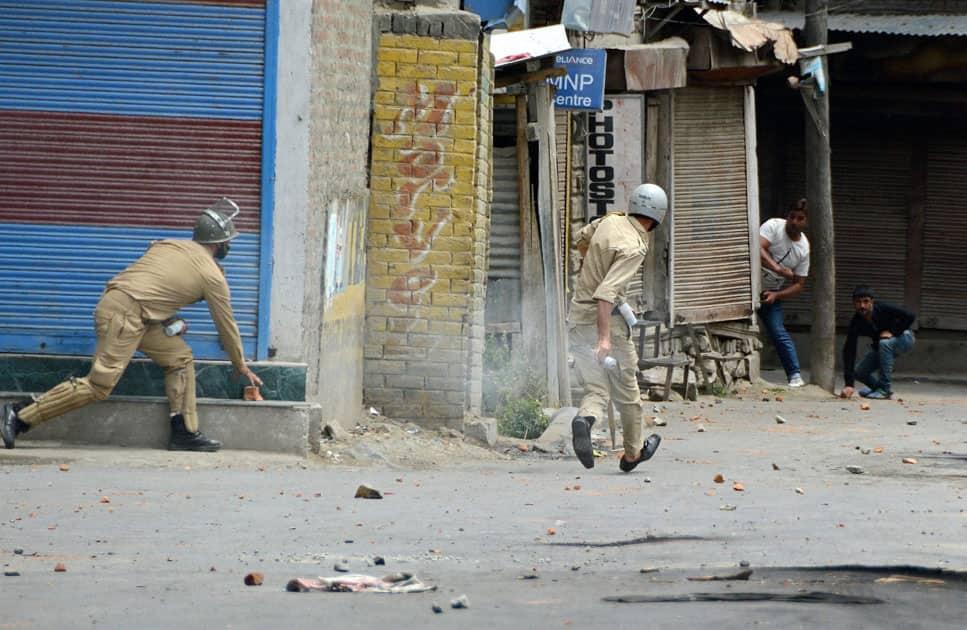 Police retaliating against agitators