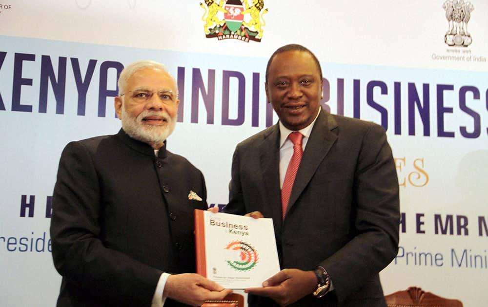 PM Modi in Nairobi, Kenya