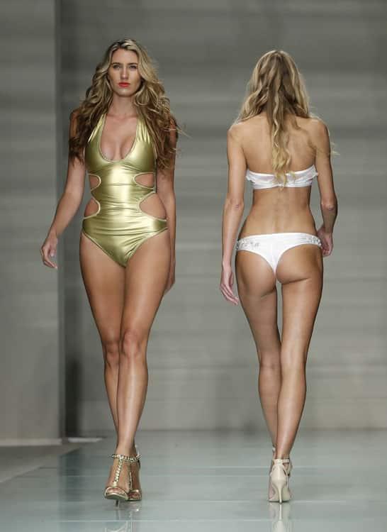 Models show off their Cirone Swim swimwear during Miami Swim Week