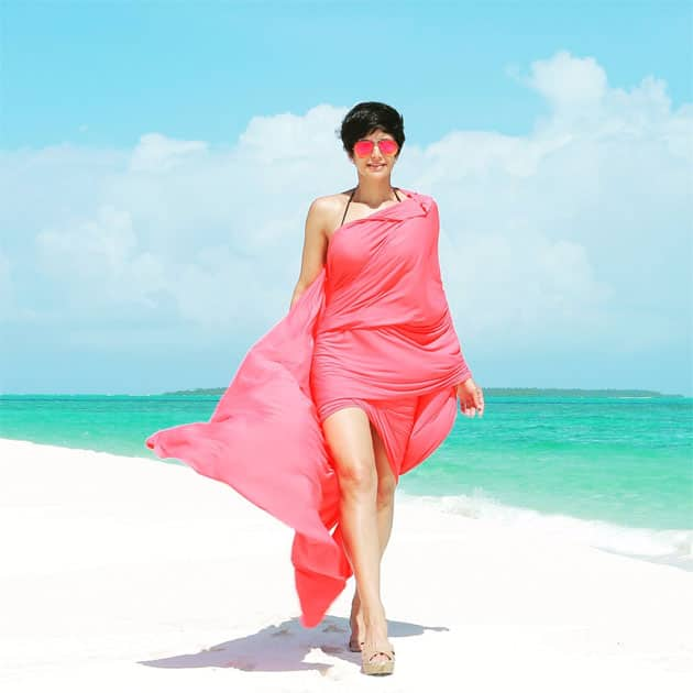 If it's #swimweek , let's knock back a shot of #salt !!- mandira bedi