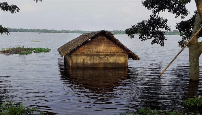 More than 1.7 lakh people affected in Assam floods, one killed