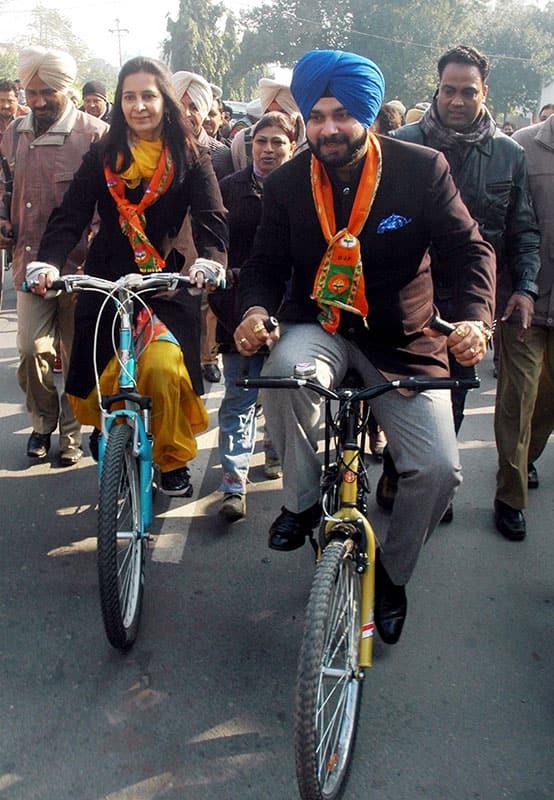 Navjot Singh Sidhu resigns