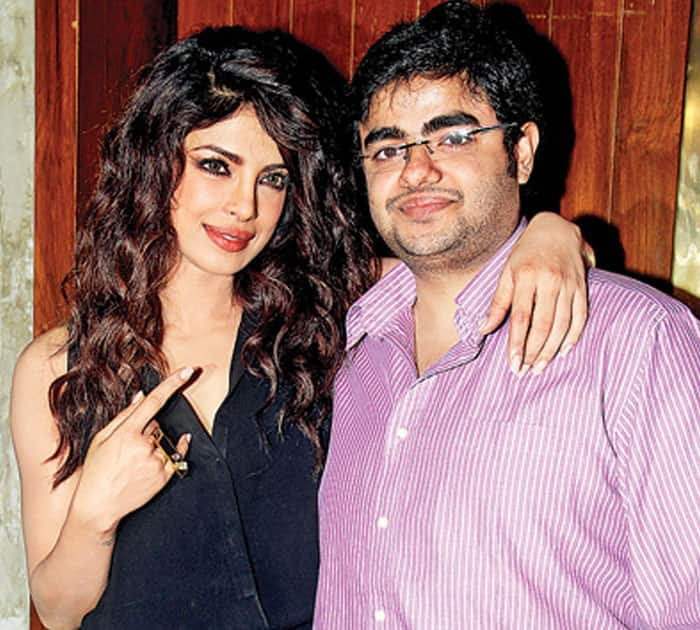 Priyanka Chopra and Siddharth Chopra