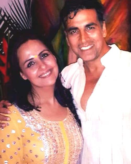Alka Bhatia and Akshay Kumar