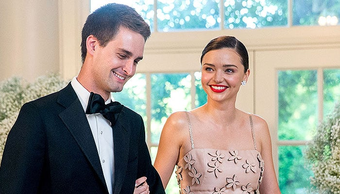 Snapchat CEO Evan Spiegel engaged to supermodel Miranda Kerr